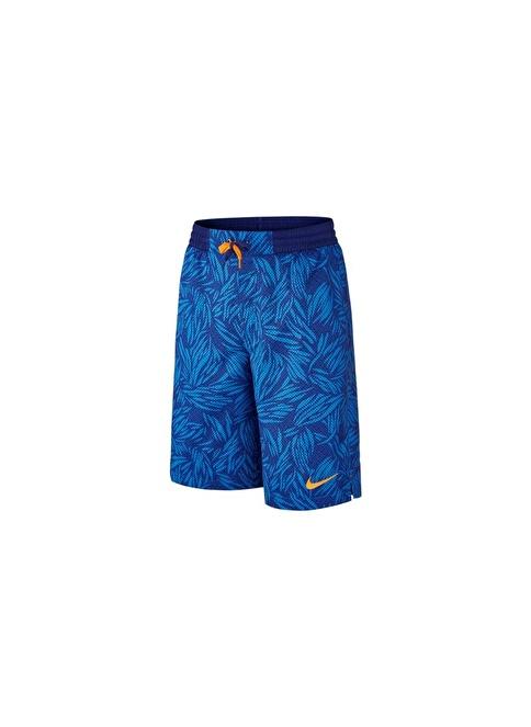 Nike Aop Swım Short Yth Mavi